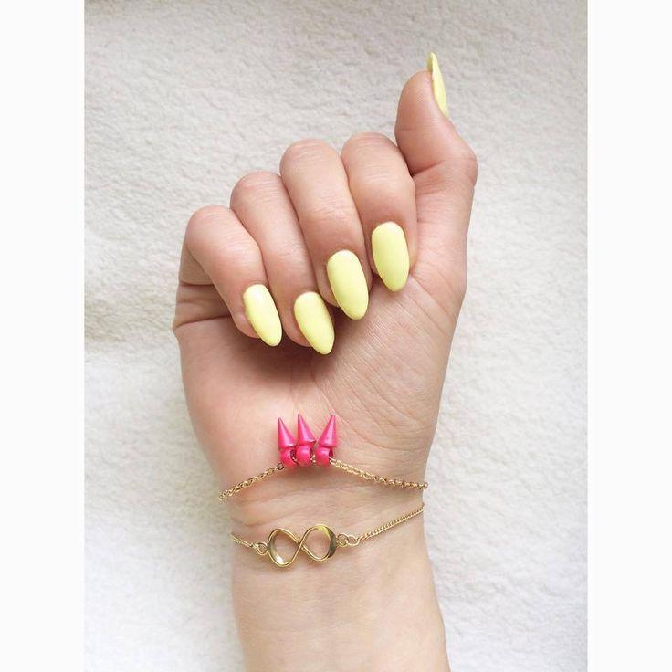 HELLO MAY ☀ Nails by Niezły Szpon Semilac 023 Banana