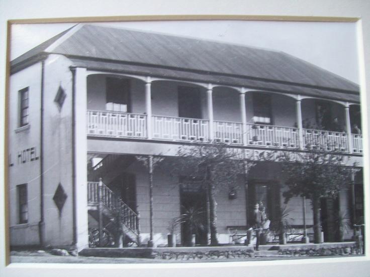 Photo by Ravenscroft circa 1910 Commercial Hotel Villiersdorp