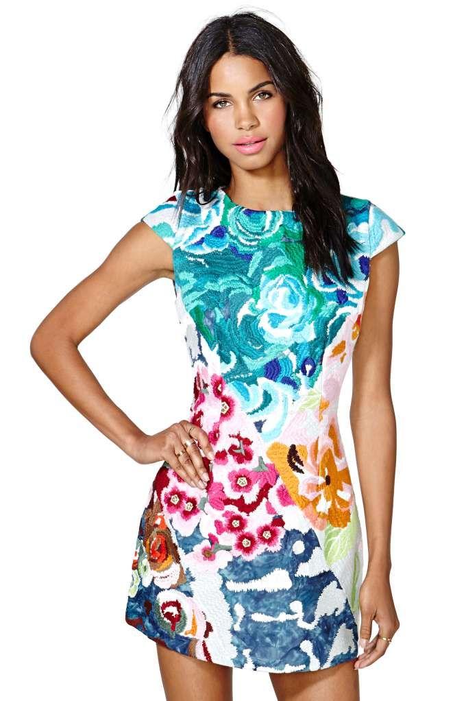 56af926af1 Shakuhachi Flower Bomb Dress | Fashion Gallery