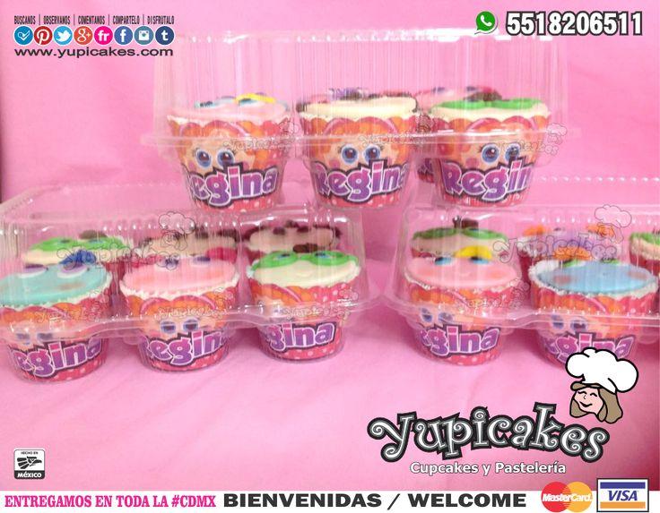 😃🎉 Cupcakes de Distroller personalizados 😋 Tu fiesta será la más cool con todos los productos que tenemos para ti 😍😍 ¡Haz tus pedidos HOY! 😉 🔵Cotiza en 👉 www.facebook.com/yupicakes 👈 o vía WhatsApp al ☎ 5518206511 🔵 ENTREGAMOS EN TODA LA CDMX 🔵 #Yupicakes #CDMX #Cupcakes #Distroller #Fiesta #Divertida #Cool #Delicioso #Personalizado #Berinaiz #Chamoy #Tinga #Neonatos #Churro #Machincuepa