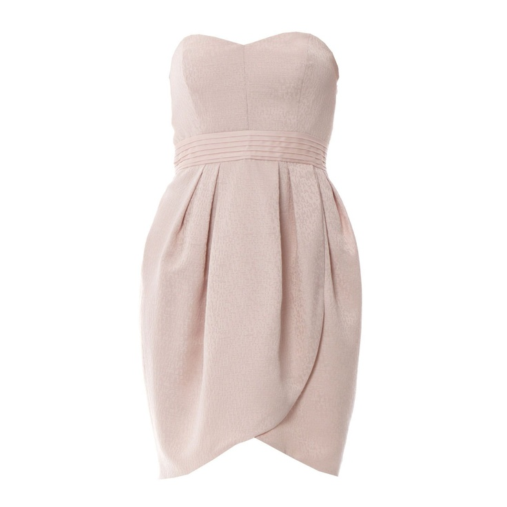 Robe de cocktail rose clair MANOUKIAN
