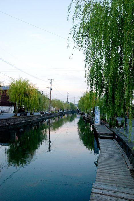 水の都といわれる、柳川。水面に柳が揺れ、心地良い雰囲気。