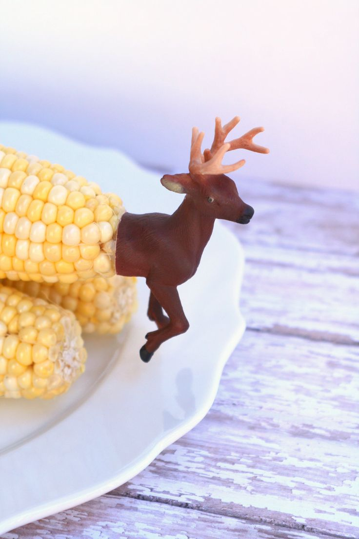 DIY Deer Corn Cob Skewers by The Glitter in My Tea on The Pulp Zine
