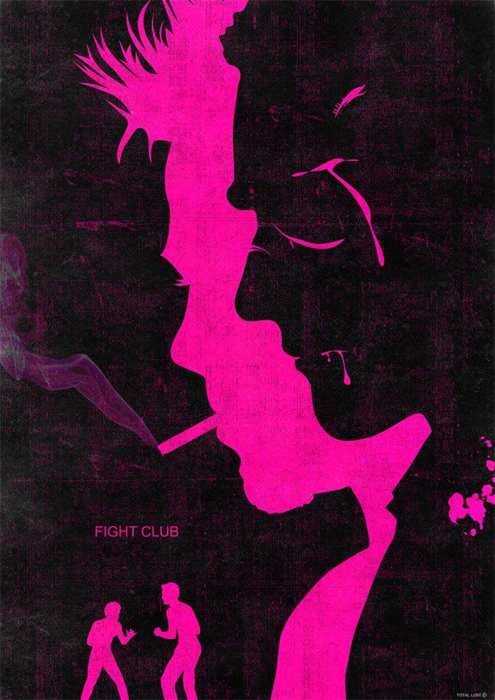 Alternative movie poster for Fight Club by Rany Atlan