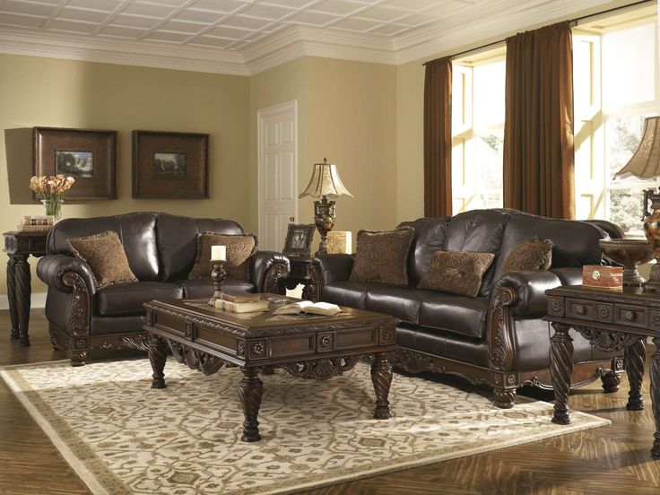 North Shore - Dark Brown Sofa Collection