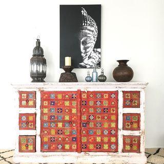 Dahana Tiled Sideboard