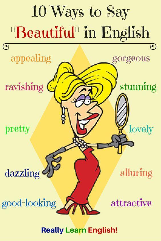Synonym of Beautiful