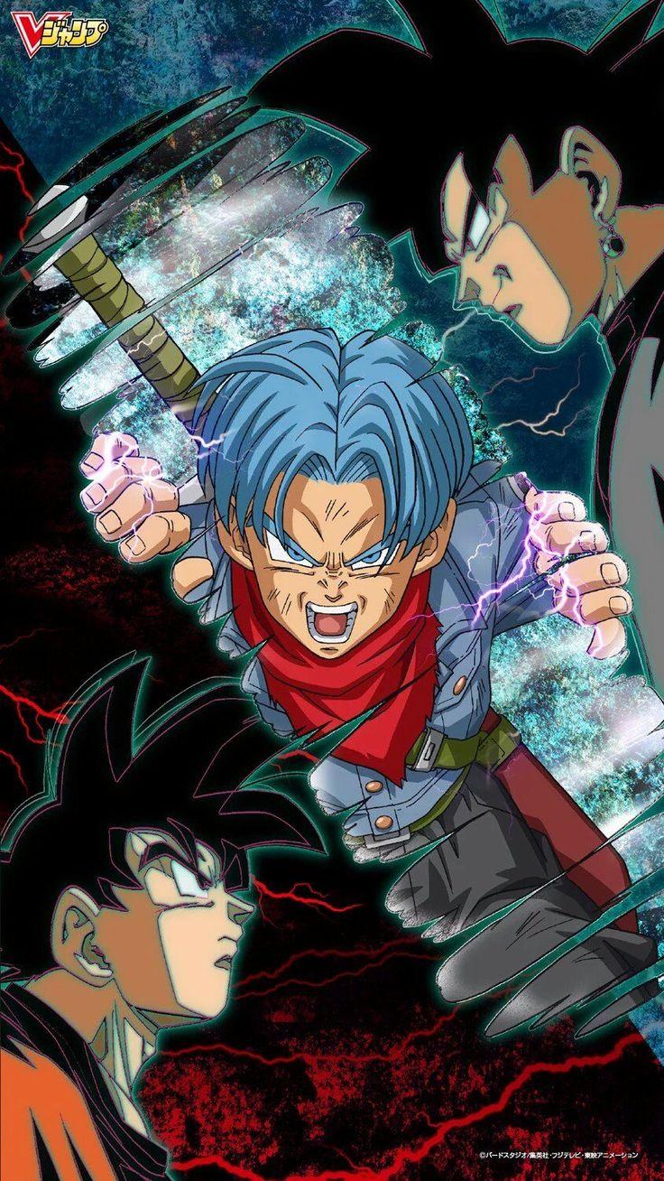 Saga de @Trunks del Futuro Son Goku vs Black Dragon Ball Super