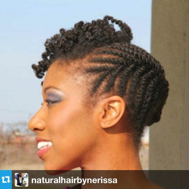 Protective Hairstyles For Short Natural Hair 169 Best Cornrows Images On Pinterest  Natural Hair African