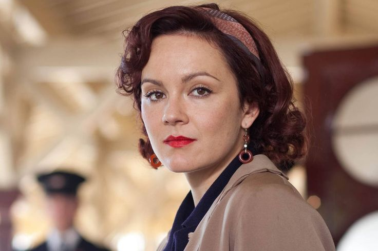 Rachael Stirling, as Millie in the Bletchley Circle