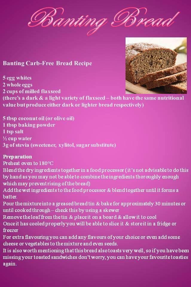 Banting bread by Anina Den Heyer