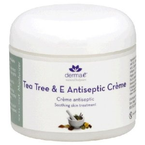 Derma e Tea Tree & E Antiseptic Creme - Cruelty Free - for many ailments like fungus, acne, sunburn dry skin, rashes, itchy bug bites and dermatitis.