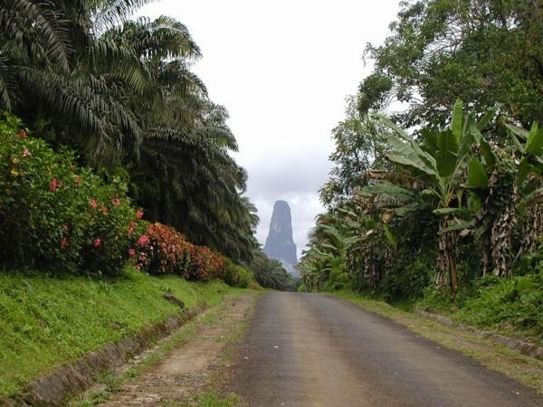 Pico Cao Grande (Great Dog Peak), Obo National Park, Sao Tome and Principe.