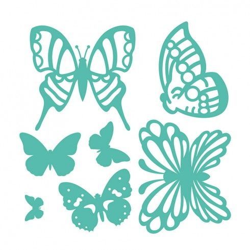 Troquel Mariposas First Edition para Sizzix