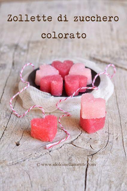 I dolci nella mente: Zollette di zucchero colorato