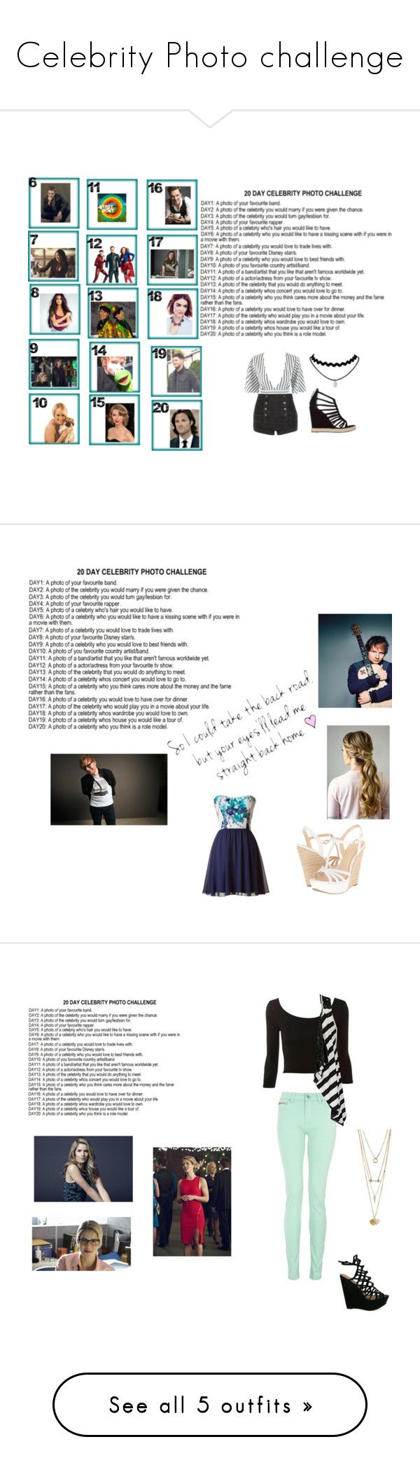 """""""Celebrity Photo challenge"""" by mercy-xix ❤ liked on Polyvore featuring GET LOST, Pierre Balmain, Jean-Michel Cazabat, Jessica Simpson, Quiz, Daytrip, Camille la Vie, Jimmy Choo and art"""