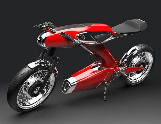 Honda Super 90 concept motorcycle