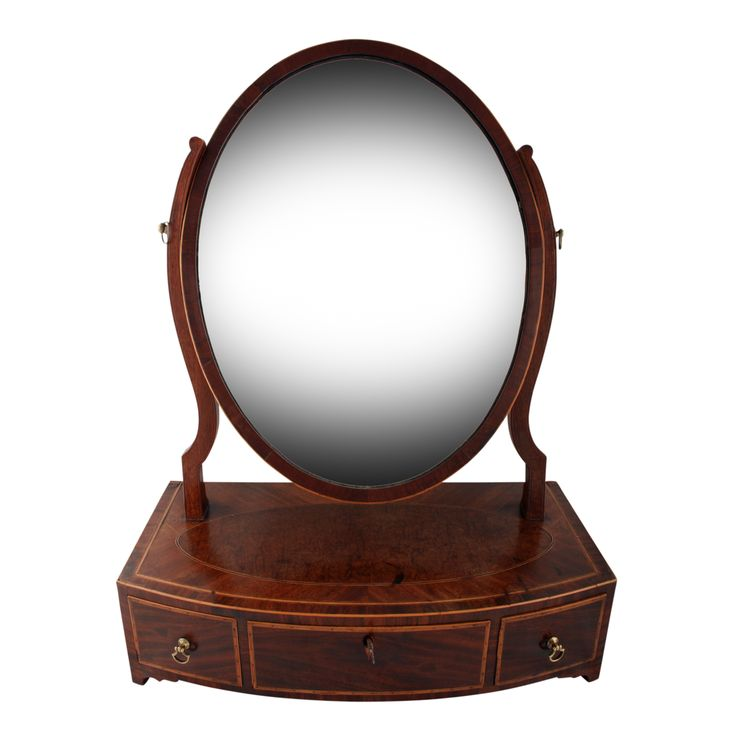 Georgian Mahogany Dressing Mirror