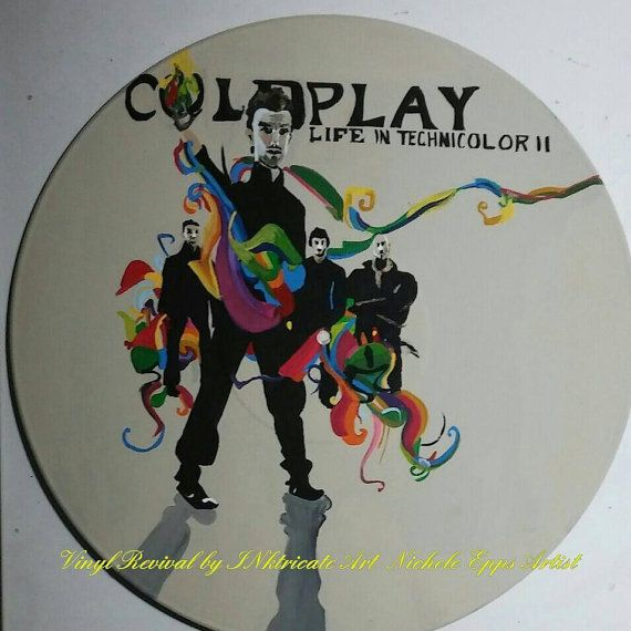 Check out this item in my Etsy shop https://www.etsy.com/listing/485581546/coldplay-life-in-technicolor-ii