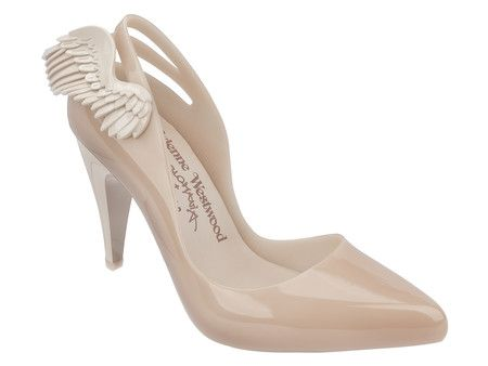 Vivienne Westwood Anglomania + Melissa Classic Heel (Bege)