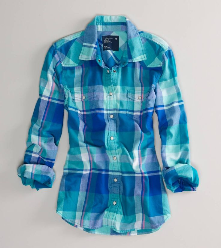 1000 Ideas About Blue Flannel Shirt On Pinterest