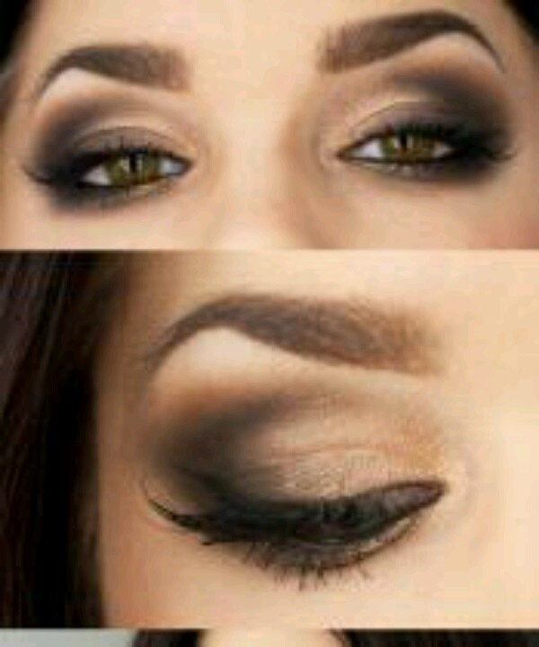 brown smokey eye | EYES liPS | Pinterest