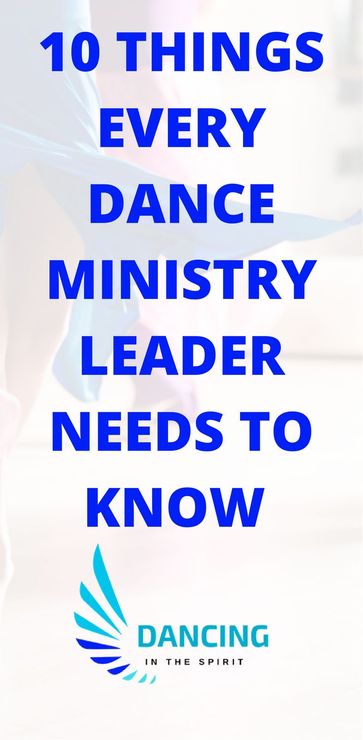 Praise dance ministry advice. Advice for praise dancers new in this role.