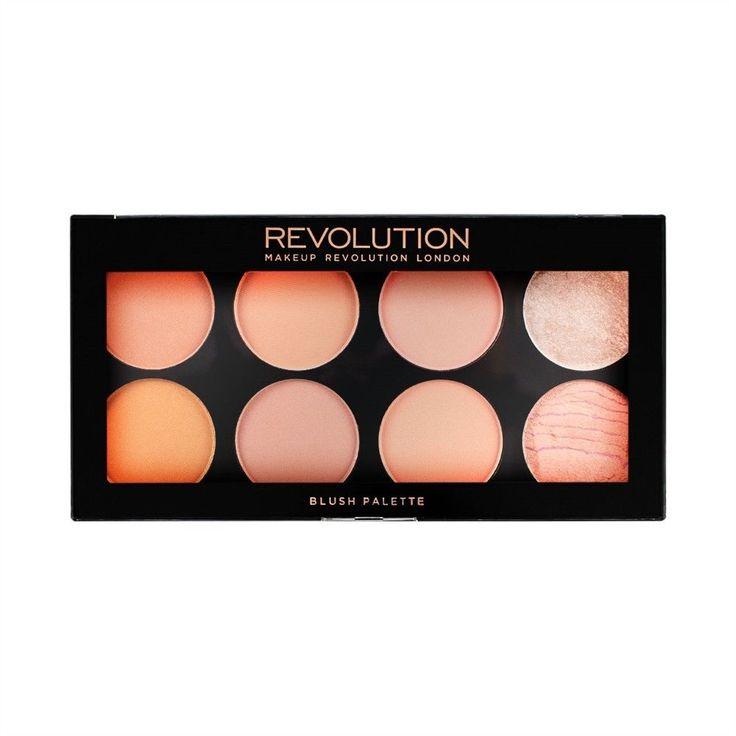 Makeup Revolution Ultra Blush Palette Hot Spice 8 fard trucco viso