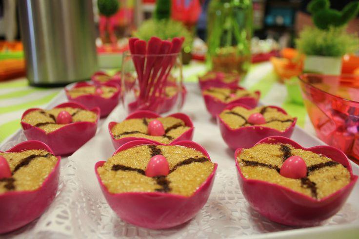 #Recette de #cuisine :  #Tamina en #verrine par Mesa Bella ! Déco de table et vaisselle jetable !