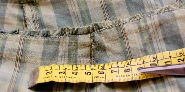 Μεταποίηση ρούχων ΙΙI: Από φόρεμα σε φούστα