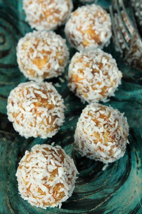 morotsbollar mandel kardemumma citron nyttigt godis