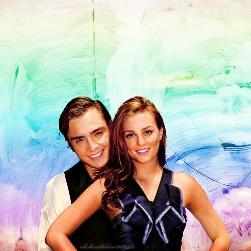 Gossip Girl--Chuck & Blair. so cutee