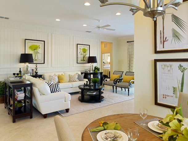 Sectional Or Two Couches Loving This Florida Style Room