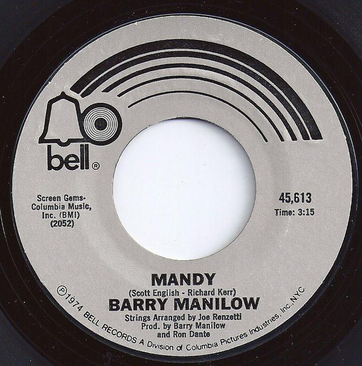 Mandy / Barry Manilow / #1 on Billboard 1975