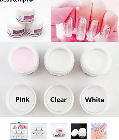 Sculpture Carving Acrylic Powder Set Nail Polymer Nail Art Tips Builder