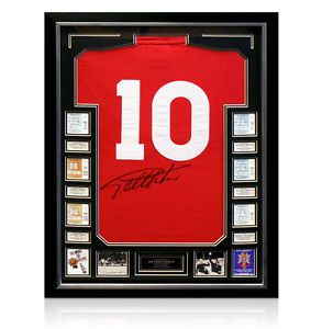 Framed Sir Geoff Hurst Signed Number 10 Shirt – Signed on 1. . http://www.champions-league.today/framed-sir-geoff-hurst-signed-number-10-shirt-signed-on-1/.  #Geoff Hurst