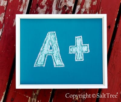 DIY chalkboard paint