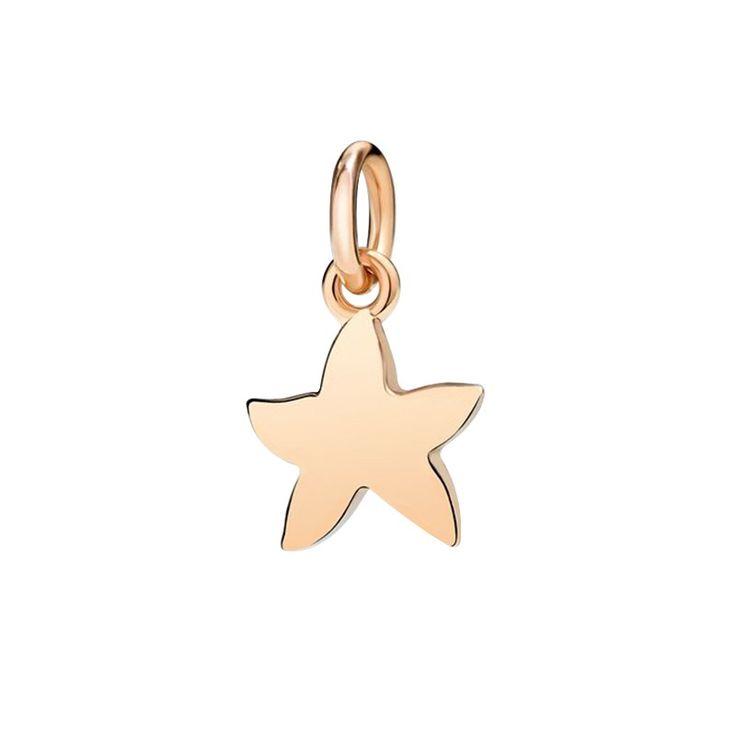 Ciondolo Stella marina Dodo in oro rosa 9k