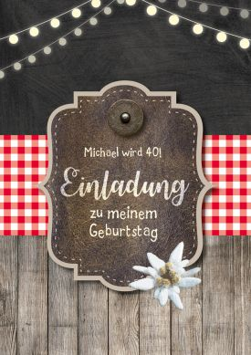 143 best 40 Geburtstag Einladungskarten images on Pinterest