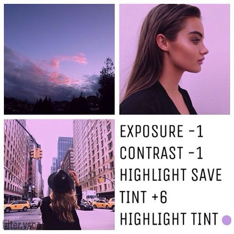 Love the purple... Ready to use VSCO as a pro!