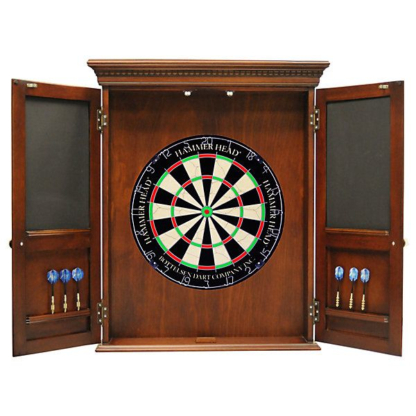 South Coast Classic Dartboard Cabinet Package