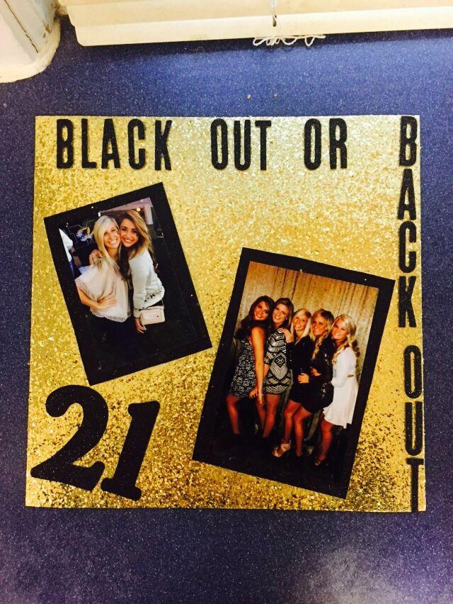 21st birthday shots page! #21st #shot #page