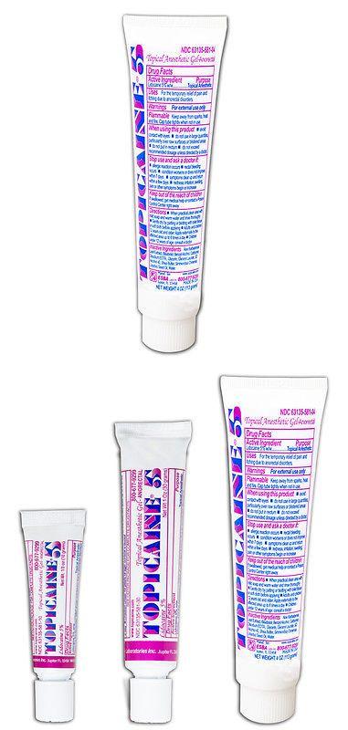 Epilators and Electrolysis: Topicaine 5%- Lidocaine Gel (113 Grams) Anesthetic Skin Numbing Cream -> BUY IT NOW ONLY: $40.99 on eBay!