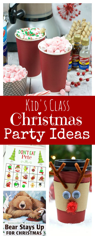Kid's Class Christmas Party Ideas