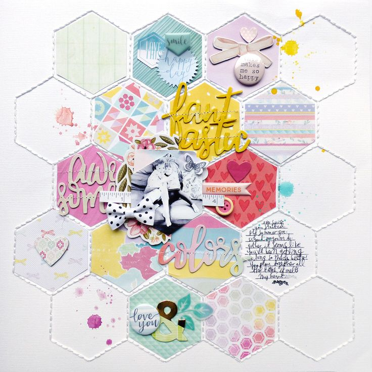 Sharing my last guest design page made with the Like Forever August Kit !     AWESOME by Paige Evans      DESCRIPTION: This page uses anoth...
