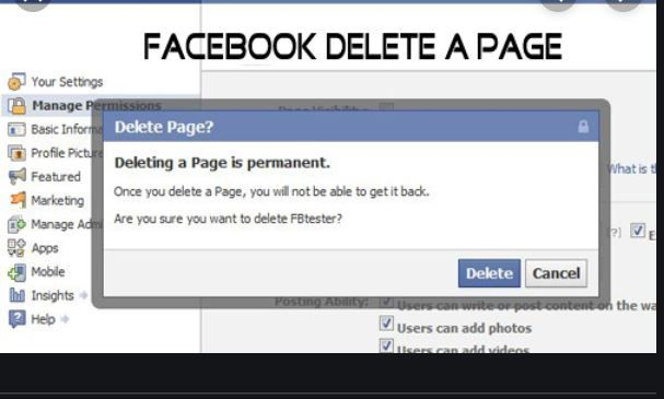 How To Delete A Facebook Page Permanently Steps In 2020 Amazon