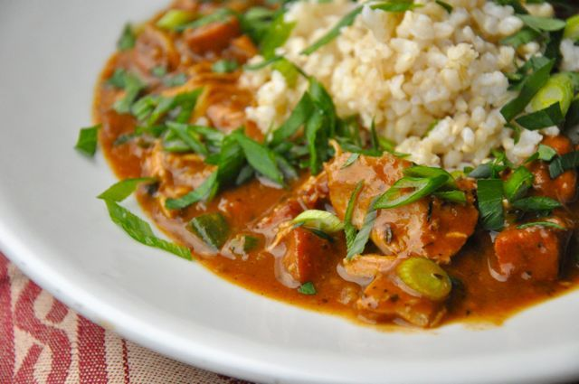 ... ouille jambalaya chicken lasagna with andouille sausage recipe yummly
