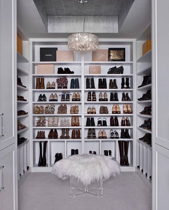 Helloooo show closet! Tag your shopaholic friends! By AMW Design Studio