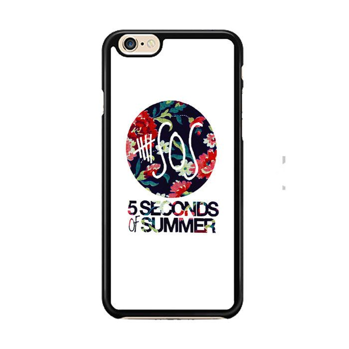 5 Second of Summer Floral IPhone 6| 6 Plus Cases