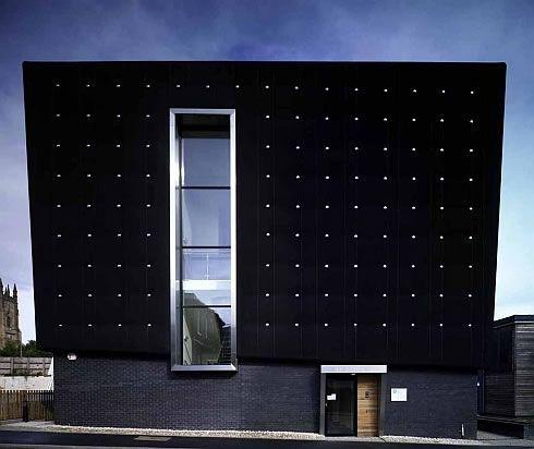 Soundhouse – The University of Sheffield (2008) Sheffield, UK Designed by Jefferson Sheard Architects #socialsheffield #sheffield